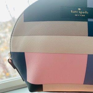 Kate Spade ♠️ Color•Block Cosmetic Bag / Clutch